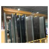 Large HD Welded Steel Glass Stock Rack