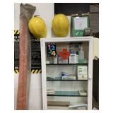 Safety Supplies and Cabinet