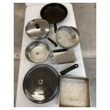 Revere Ware & Odd Kitchen items