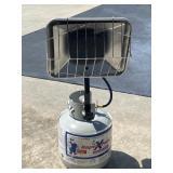 Single Propane Heater  45,000 BTU Coleman Heater