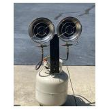 Dual Propane Heater