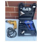 Dewalt Drill & Heat Pro Deluxe Heat Gun