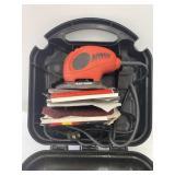 Black & Decker Mouse Sander with case