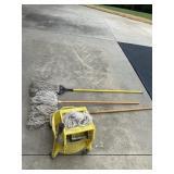 Industrial Mops & Mop Bucket