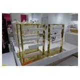 Gold & White Displays