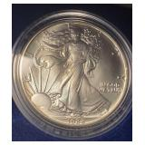 US Coins 1988 Uncirculated Silver Eagle