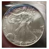 US Coins 2006 Uncirculated Silver Eagle