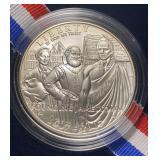 US Coins 2007 Uncirculated Jamestown Silver Dollar
