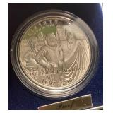 US Coins 2007 Proof Jamestown Silver Dollar