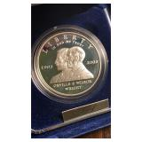 US Coins 2003 Proof First Flight Silver Dollar