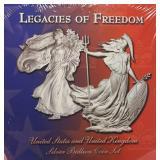 US Coins 2002 & 2003 Legacies of Freedom Set