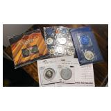 US Coins Silver/Mint Set/Proofs