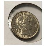 US Coins 1915 Barber Dime