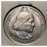 US Coins 1893 Columbian Half Dollar