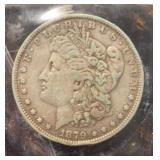 US Coins 1879 Morgan Silver Dollar Circulated
