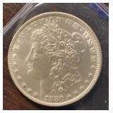 US Coins 1880 Morgan Silver Dollar Circulated