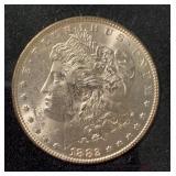 US Coins 1882 Morgan Silver Dollar BU