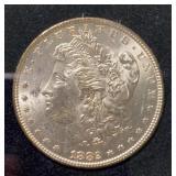 US Coins 1883 Morgan Silver Dollar BU
