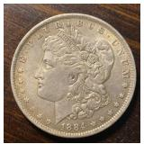 US Coins 1884-O Morgan Silver Dollar BU