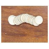 US Coins 17 X 1965-69 Kennedy Halves
