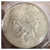 US Coins 1922 Peace Dollar Circulated