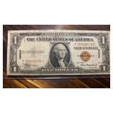 US Paper Money $1 Hawaii Overprint Silver Cert