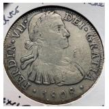 Mexico Coins 8 Reales 1808
