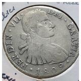 Mexico Coins 8 Reales 1809