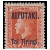 Aitutaki Stamps #1-13 Mint HR F/VF CV $292