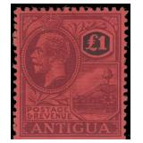 Antigua Stamps #58-64 Mint LH CV $330