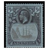 Ascension Stamps #10-21 Mint HR CV $436.25
