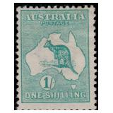Australia Stamps #1-10 Mint HR Kangaroos CV $989