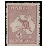 Australia Stamps #45-53 Mint LH Kangaroos CV $662