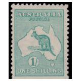 Australia Stamps #38-42 Mint LH Kangaroos CV $670