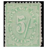 Australia Stamps #J32, J34, J36 Mint HR CV $700