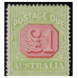 Australia Stamps #J39-J49 Mint HR CV $1307