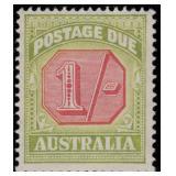 Australia Stamps #J64-J70 Mint HR CV $257
