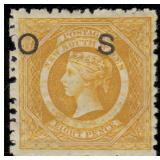 New South Wales Stamps #O13/O37 Mint HR CV $783