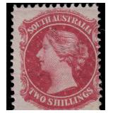 South Australia Stamps #53f Mint LH 1867 CV $350