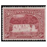 Tasmania Stamps #86-93 Mint HR F/VF CV $239