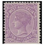 Western Australia Stamps #76/88 Mint HR CV $879