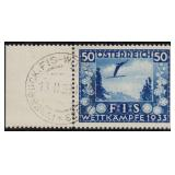 Austria Stamps #B106-B109 Used VF CV $168.50