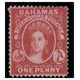 Bahamas Stamps #17 Mint No Gum CV $1500