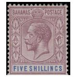Bahamas Stamps #70-83 Mint HR F/VF CV $183