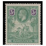 Barbados Stamps #116-126 Mint HR F/VF CV $260