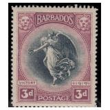 Barbados Stamps #140-151 Mint HR F/VF CV $182