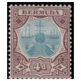 Bermuda Stamps #31-39 Mint HR F/VF CV $198
