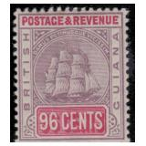 British Guiana Stamps #130/147 Mint HR CV $301