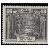 British Guiana Stamps #210-222 Mint HR CV $179