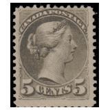Canada Stamps #38 Mint LH Fine CV $800